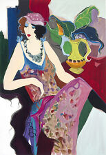 "ITZCHAK TARKAY  ""JACQUELINE"" LIMITED EDITION SERIGRAPH HAND SIGNED 10/350"
