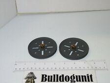2010 Special Erector Set Lot 2 Wheel Pieces Only Meccano Metal