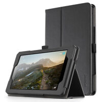 Amazon Fire 7 (8th/9th Gen) Tablet Case,Poetic Auto Sleep/Wake, Magnetic Closure
