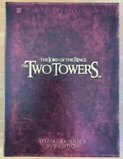 The Lord of the Rings: The Two Towers (DVD, 2003, Special Extended DVD Edition)