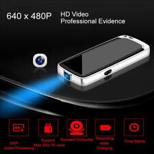 Audio Voice Recorder Hidden Camera DVR 32GB Mini Spy Camcorder Tiny Button