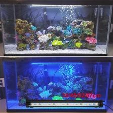 For Aquarium Fish Tank LED Light RGB White Blue Strip Light Bar Lamp Lights UK