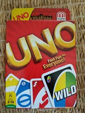 Uno Card Game New