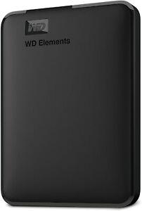 WD 5 TB Elements Portable External Hard Drive - USB 3.0, Black