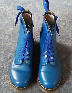 Dr Martens Blue 8 hole SIZE 4