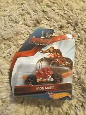 HOTWHEELS,AVENGERS,IRON MAN MOTORCYCLE