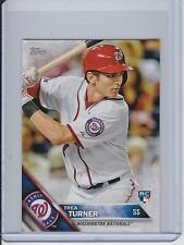 2016 Topps Mini Platinum Parallel True 1/1 #103 Trea Turner RC - Nationals RARE!