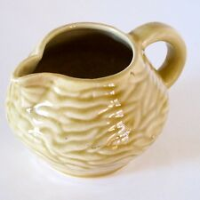 Florenz 1950s Milk Jug in Duochrome Tan & Brown Glaze