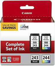 Genuine Canon PG-243 CL-244 Ink Cartridges for MG2522 4520 3120 3122 Printer-NEW