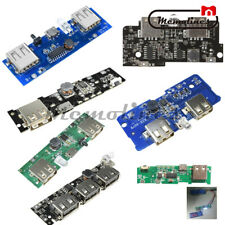 5V 1A/2A/2.1A Power Bank Charger Module Mobile Phone USB LED Boost PCB Board