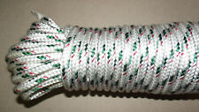 """5/16"""" (8mm) x 84' Double Braid Sail/Halyard Line, Jibsheets, Boat Rope -- NEW"""