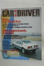 June 1976 Car and Driver Mid-Engine Lancia Scorpion, Sports Car or The Year
