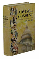 Advise and Consent ~ ALLEN DRURY ~ Stated First Edition ~ 1st Printing 1959