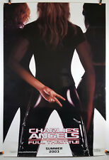 Charlie's Angels: Full Throttle 2003 Original Movie Poster 27x40 Rolled, Glossy