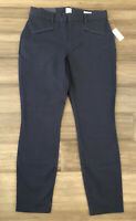 GAP NWT Women's Navy Curvy Signature Skinny Ankle Cotton Blend Pants-Size 6