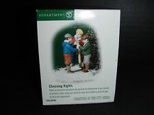 """Brand New - Dept 56 Christmas In The City """"Choosing Rights"""" # 58990"""