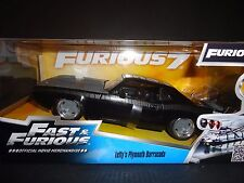 Fast e Furious Diecast Model 1/24 1970 Plymouth Letty S Barracuda Jada Toys