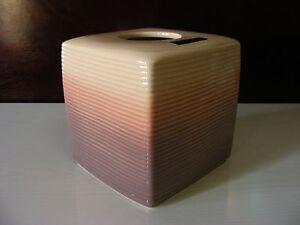 <JOSEPH ABBOUD> OMBRE Ipanema Collection Ceramic Tissue Napkins Holder+