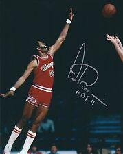 Signed 8x10 Artis Gilmore Hof Chicago Bulls Autographed Photo w/Coa