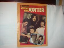 WELCOME BACK KOTTER #6419 GOLDEN ALL STAR BOOK  1977 PREOWNED