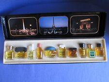 Les Meilleurs Parfums de Paris 10 Mini Perfume Set Pucci Weil D'Albret Balmain