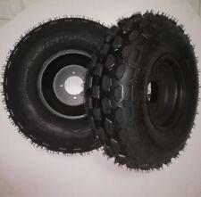 N° 2 Gomme Pneumatici+ Cerchio Anteriore ATV Quad 19x7.00-8 , 19x7-8, miniquad
