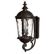 Hinkley Lighting Windsor 4 Light Outdoor Large Wall Mount, Black - 1895BK