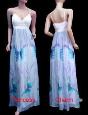 Chiffon Hand-wash Only Floral Maxi Dresses for Women