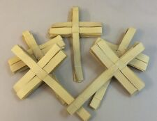 50 Hand Made Indian Palm Cross Crosses- Wholesale Available