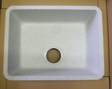 SCHOCK Idea N100 Küchen Einbaubecken MiracleWhit Weiß 45x33 flächenbündig Corian