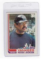 1982 Topps #300 REGGIE JACKSON, New York Yankees, EX/NM