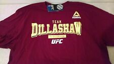 Men's Reebok UFC Team TJ Dillashaw Red T-shirt - Size XX-Large