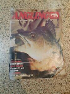 ANGLING FISHING MAGAZINE   NOV 1972
