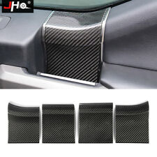 REAL CARBON INNER DOOR HANDLE PANEL OVERLAY COVER for 2017-2020 FORD RAPTOR 2018