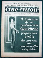 "Ciné-Miroir 1923 French Cinema Magazine w Max Linder's ""Three Musketeers"" Parody"