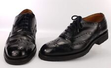 CHURCH'S Vintage 'Hartwell' Custom Grade Brogue 8.5 Shoes Oxford Rubber Sole
