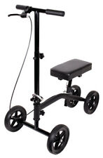 Scooter Knee Walker Leg Crutch Steerable Folding KD 250 Lb Capacity Carex A33700