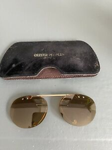 oliver peoples Riley R Clip On Sunglasses 50