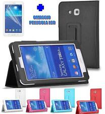 SMART COVER PER SAMSUNG GALAXY TAB 3 7.0 LITE SM-T110 T111 CUSTODIA TABLET STAND