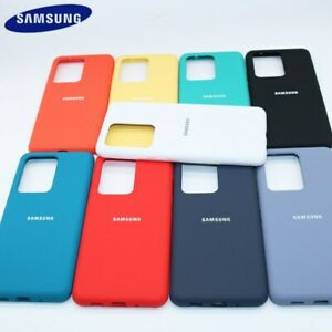 Original Samsung Shockproof Protective Silicone Smart Case For Galaxy S20 Ultra
