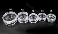 3g 5g 7G 10g Clear Cosmetic Empty Jar Pot Eyeshadow Makeup Face Cream Container