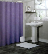 2 LINERS SOLID WATER REPELANT BATHROOM SHOWER CURTAIN PLASTIC LAVENDER PURPLE