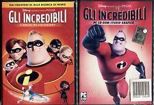 GLI INCREDIBILI - DISNEY DVD + PC - NUOVO E SIGILLATO, PRIMA EDIZIONE ITALIANA