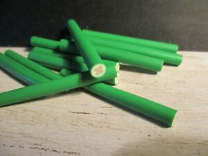 5 DOLLS MINIATURE POLYMER CLAY CANES CUCUMBERS
