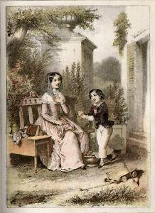Cartonnage romantique. - C.G., M[ada]me.  Histoirettes pour mes petits amis 1858