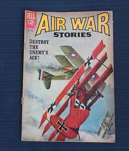 AIR WAR STORIES #2  DELL COMICS COMIC LOT SILVER AGE 12 CENT COMIC