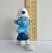 Smurf GUTSY Brave March 2011 Peyo Toy PVC Figure McDonalds