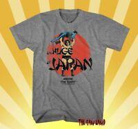 NEW WWF Andre The Giant Huge In Japan WWE Mens Vintage Legend  T-shirt