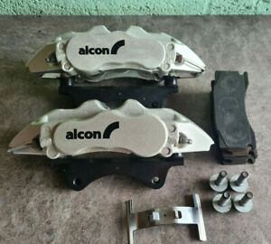 Alcon BMW M135i/M140i Front 6 Pot Calipers Pads Fitting Brackets - Excellent Con