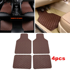 4x Waterproof Non-slip Carpet Leather Front Rear Styling Interior Floor Car Mat